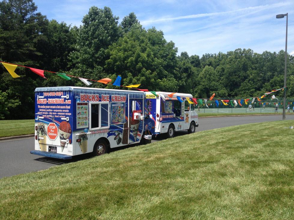 Bucks Ice Cream Truck Employee Appreciation