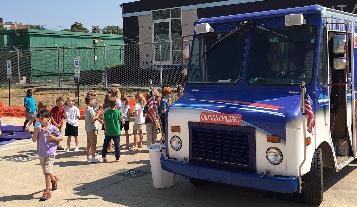 Bucks Ice Cream School Graduation