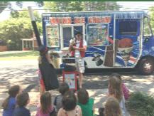 Bucks Ice Cream and Magic for kids birthdays